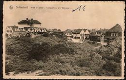 St. Idesbald - Villas Campo, Jacqueline Et Clémence - Circulée - Edit. Photo-Ciné Oscar - Coxyde / Koksijde - 2 Scans - Koksijde