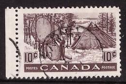PIA - CANADA :1950-51 - Essiccazione Delle Pelli  - (Yv  241) - Usados