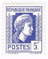 France, N° 645 - Série D'Alger - Type Marianne - 1944 Coq Et Marianne D'Alger