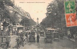 75 PARIS BOULEVARD MONTMARTRE TRES ANIMEE - Autres