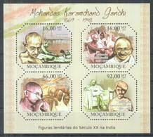 G10. Mozambique MNH 2011 Mohandas Karamchand Gandhi, 1869-1948 - Mahatma Gandhi