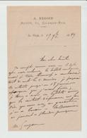AVOUE -- A. REGOIN  -- 67 GRANDE-RUE  --- LA FLECHE  -- 1879 - 1800 – 1899