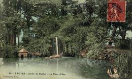 Troyes  Jardin Du Rocher La Pièce D'Eau  10Aube France Frankrijk Francia - Troyes