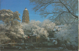 CPM , Chine , Snow On Huqiu Hill, Ed. Shanghai ... - Chine