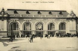 Troyes La Gare Le Nouveau Vestibule 10Aube France Frankrijk Francia - Troyes