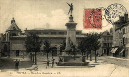 Troyes Place De La Bonneterie  10Aube France Frankrijk Francia - Troyes