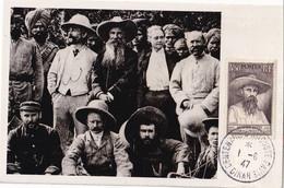 LAOS - CM Auguste Pavie Entourédes Membres De La Commission Franco-Anglaise Du Haut-Laos En 1895 - Laos