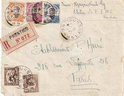LAOS - Devant De Lettre Recommandée De PHONTIOU Du 13/7/32 - Laos