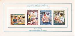 LAOS - 2 Blocs Année De L'enfant Neufs - 2 Scans - Laos