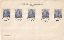 LAOS - Commission Internationale Pour Le Laos (Service Postal De L'armée Indienne) - Laos