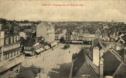 Troyes Panorama Pris De L'Hotel De Ville  10Aube France Frankrijk Francia - Troyes