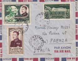 LAOS - 3 Lettres Par Avion De 1955/9 Dont Une Recommandée - 3 Scans - Laos