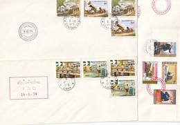 LAOS - 20 FDC De 1973/5 - 7 Scans - Laos