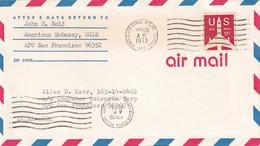 LAOS - Aérogramme Militaire Américain De 1973 - Laos