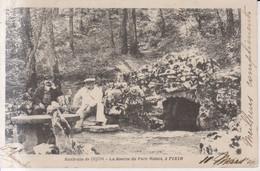 Environs De Dijon La Source Du Parc Noisoi A Pixin Carte Postale Animee   1904 - Dijon