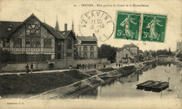 Troyes Rive Gauche Du Canal De La Haute Seine  10Aube France Frankrijk Francia - Troyes