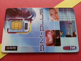 ITALIA SIM GSM TIM 128KB  - With Numbers USIM RARE MINT (BH1219b5 - [2] Tarjetas Móviles, Prepagadas & Recargos