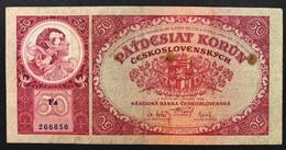 Ceskoslovenska CECOSLOVACCHIA  50 KORUN 1929 Lotto 351 - Slowakije