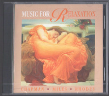CD 7 TITRES MUSIC FOR RELAXATION CHAPMAN MILES RHODES NEUF SOUS BLISTER - New Age