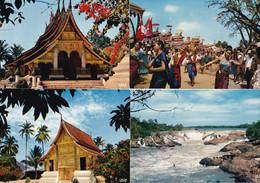 LAOS -12 Cartes Postales Neuves - 4 Scans - Laos