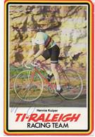 CYCLISME   TOUR DE FRANCE  AUTOGRAPHE HENNIE KUIPER - Cycling