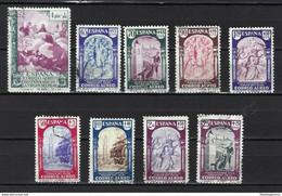 ESPAÑA 904/12 En Usado. Cat.25 € - 1931-50 Unused Stamps