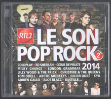 2 CD 40 TITRES LE SON POP ROCK 2 RTL 2 COLDPLAY ED SHEERAN NEUF SOUS BLISTER - New Age