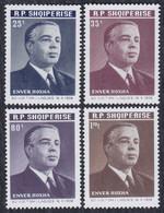 Albania 1968 Enver Hoxha's 60th Birthday, MNH (**) Michel 1315-1318 - Albania