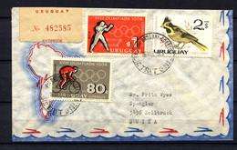 Uruguay,  1965,  R- Cover - Uruguay