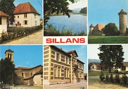 38 Sillans Carte 6 Vues Multivues - Vienne