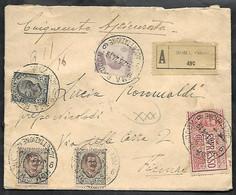 F6262  - ASSICURATA ESPRESSO CON MICHETTI - Storia Postale