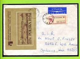 Polen, Poland, 1973,  Copernicus ,  Kopernikus,   Nach USA Gelaufen - Storia Postale