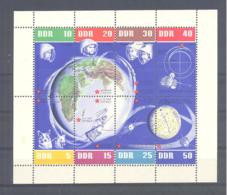 DDR  Michel #  926 - 33  **  Kleinbogen / 1636 - 43 ** Kleinbogen / Block 15 - Colecciones