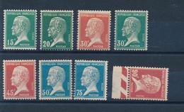 FRANCE - N° 171/78 NEUFS* AVEC CHARNIERE - COTE : 31€70 - 1923/26 - 1922-26 Pasteur