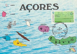 Portugal & Maximum Card,  Archipelago Of The Azores, Maxifilia Exhibition On Tourism, Ponta Delgada 1980 (1571) - Other