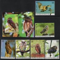 Cuba  2019. Fauna. Birds. Owls. Birds Of Prey.  MNH - Unused Stamps