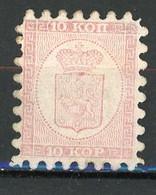 FIN - 1860 Yv. N° 4   (*)  5k  Percage  I Ou II ?  Cote 800 Euro  BE 2 Scans - Neufs