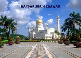 Brunei Bandar Seri Begawan Mosque New Postcard - Brunei