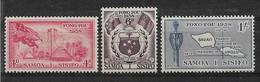 Samoa West 1953 Lot  Mi.-Nr. 109 - 111 **/MNH - Samoa