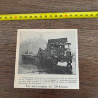 1929 PATI2 Auto Camion De 100 Tonnes MRS  LTD Martson Road Services - Non Classificati