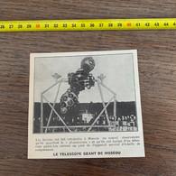 1929 PATI2 Télescope Géant De Moscou Le Planétarium - Non Classificati