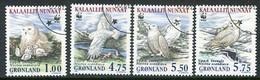 GREENLAND 1999 Snowy Owl  Used.  Michel 331-34 - Gebraucht