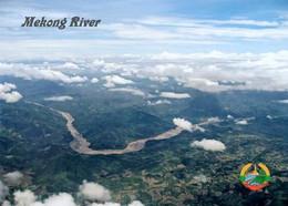 Laos Mekong River Aerial View New Postcard - Laos