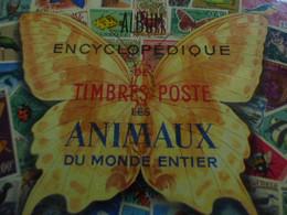 """DESTOCKAGE_ TRES GROS ALBUM TIMBRES DU  MONDE   'ALBUM ENCYCLOPEDIQUE DE TIMBRES POSTE"""" BONNES VALEURS - Verzamelingen (in Albums)"""