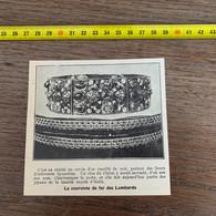 1929 PATI2 La Couronne De Fer Des Lombards Charlemagne - Non Classificati