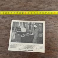 1929 PATI2 L Orchestre Sans Musiciens Disque De Phonographe Fiebiger DJ - Non Classificati