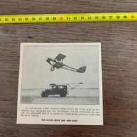 1929 PATI2 Avion Lancé Par Une Auto Aérodrome D Old Orchard - Non Classificati
