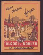 """Protège-cahier Illustré  """" L'alcool à Brûler Est Indispensable """" - Other"""