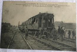Catastrophe De Courville 14 Février 1911 -rencontre Du Rapide Paris Brest Avec Un Train De Marchandises-6 - Catástrofes
