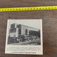 1929 PATI2 Première Locomotive à Combustion Interne Diesel à Eslingen - Non Classificati